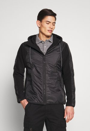 DESERT ALCHEMY BLOCK OVERHEAD - Fleece jacket - black