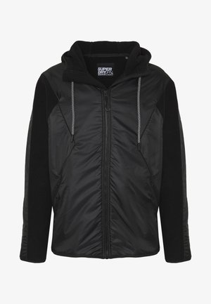 DESERT ALCHEMY BLOCK OVERHEAD - Fleece jacket - black