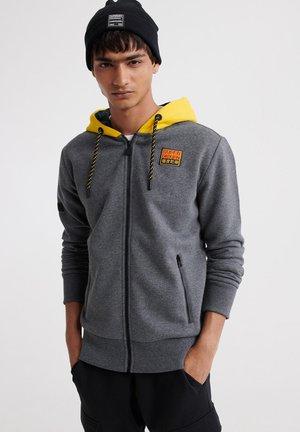 veste en sweat zippée - graphite dark