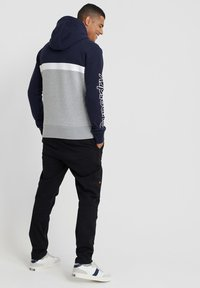 Superdry - Jersey con capucha - blue/grey