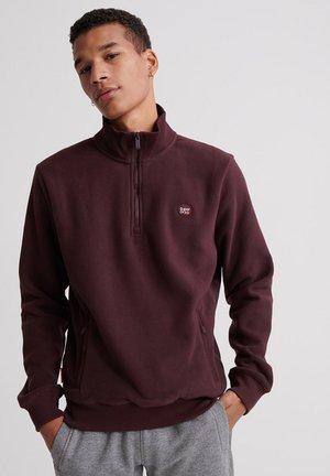 Fleece trui - burgundy