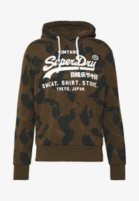 Superdry - STORE HOOD - Sweat à capuche - oil green - 4