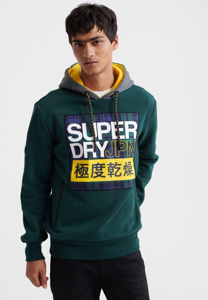 Superdry Bluza z kapturem - pine