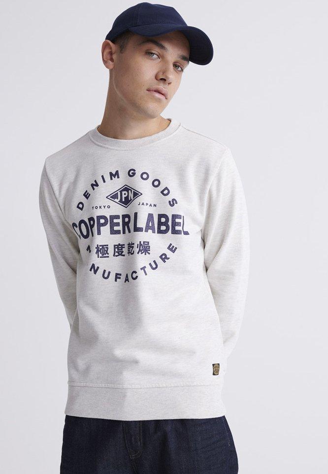 Superdry Bluza - white
