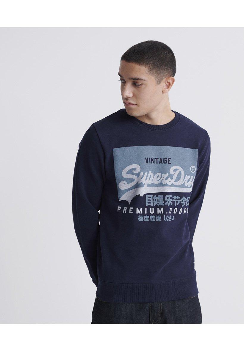 Superdry Bluza - rich navy