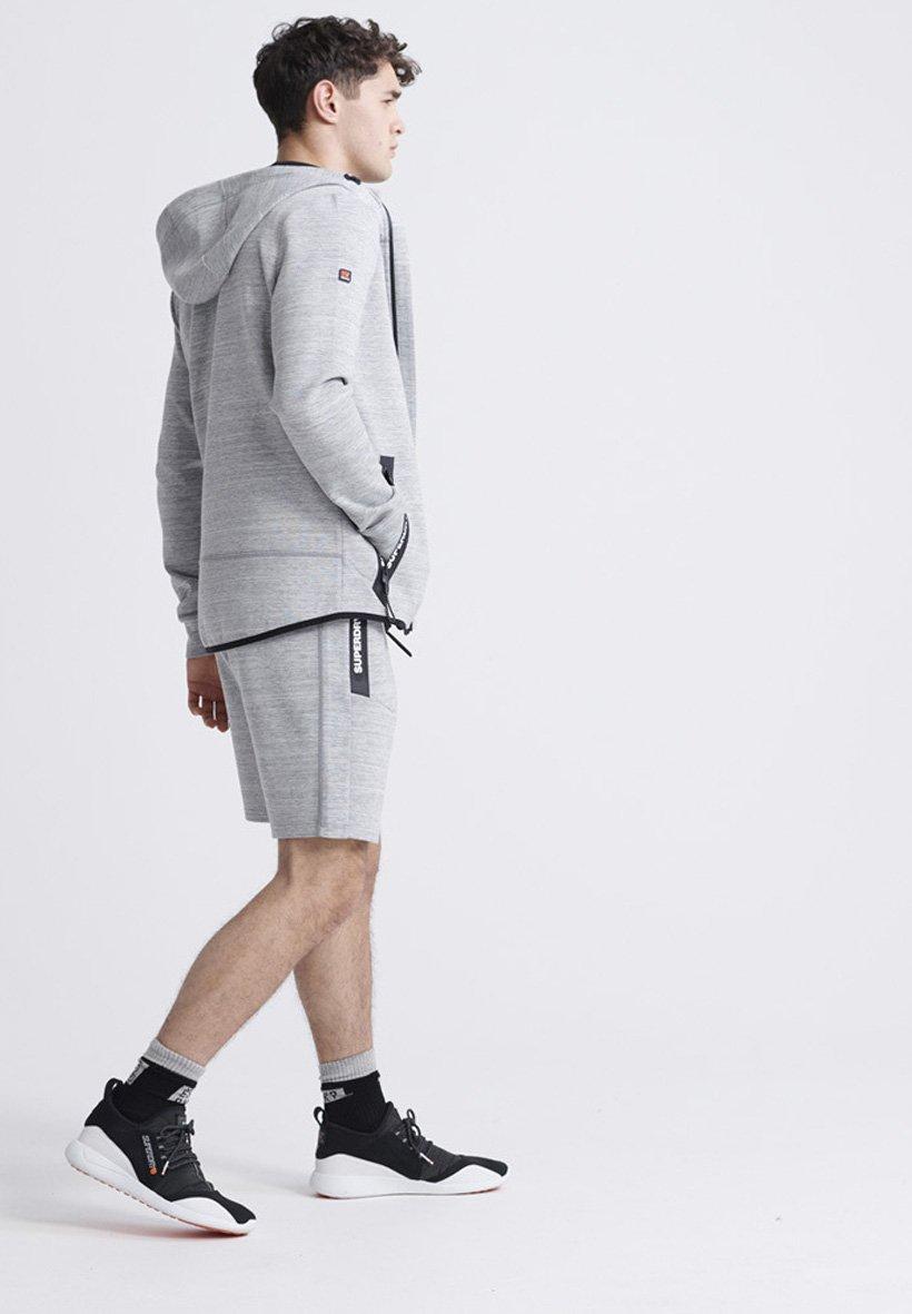 Superdry Sudadera con cremallera - light grey
