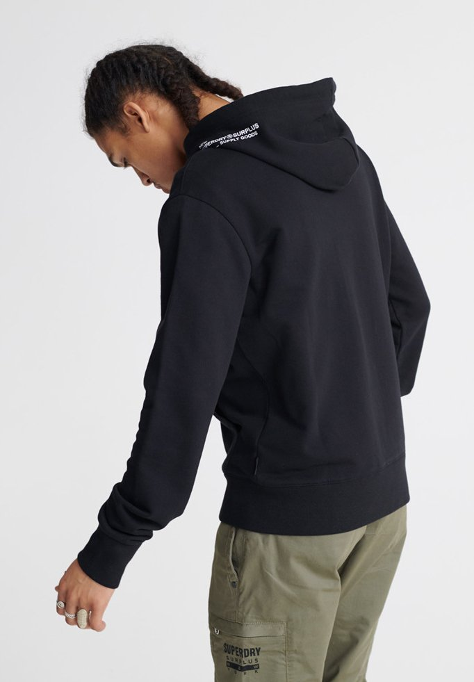 Superdry Surplus - Veste En Sweat Zippée Black
