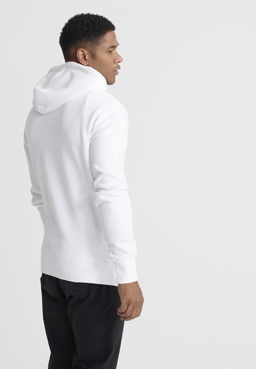 Superdry Sweat à capuche - white