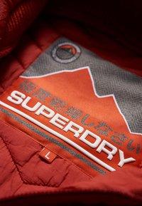Superdry - VINTAGE FUJI - Veste mi-saison - burnt orange - 4