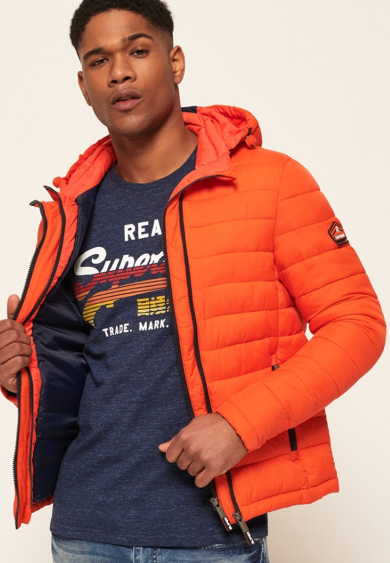 Superdry - NEW FUJI - Veste mi-saison - orange intense