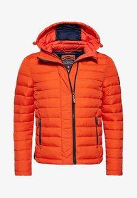 Superdry - NEW FUJI - Light jacket - orange intense - 5