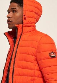 Superdry - NEW FUJI - Light jacket - orange intense - 4