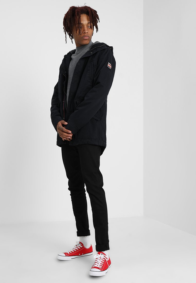 NEW MILITARY Parka super dark navy