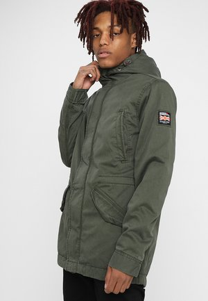 NEW MILITARY - Parka - forest night