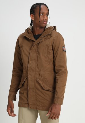 NEW MILITARY - Parka - rusty gold