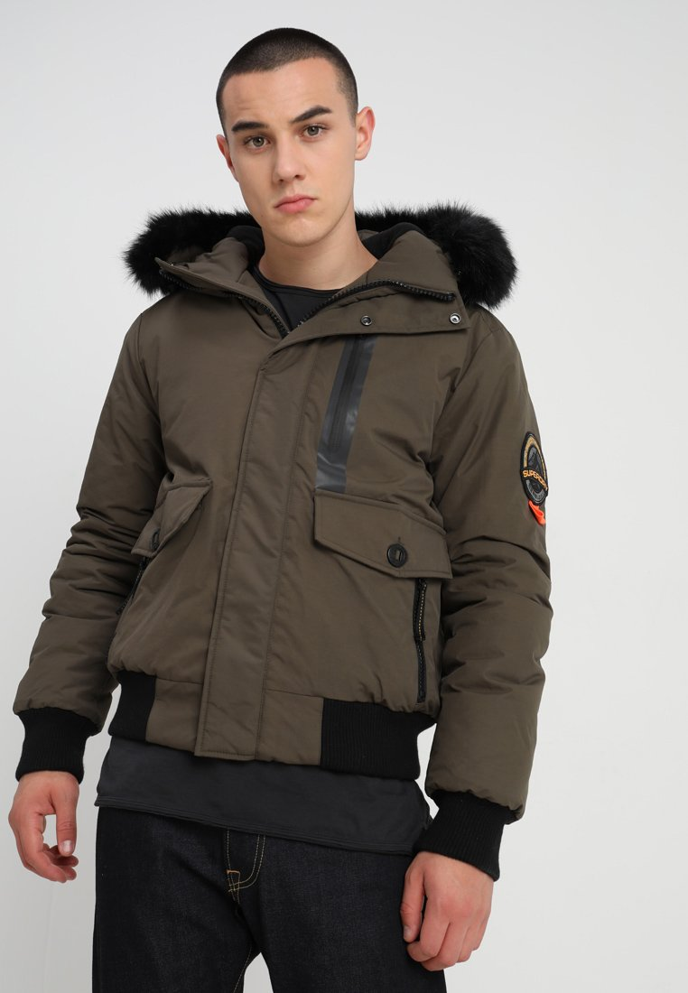Superdry - EVEREST  - Winterjacke - khaki