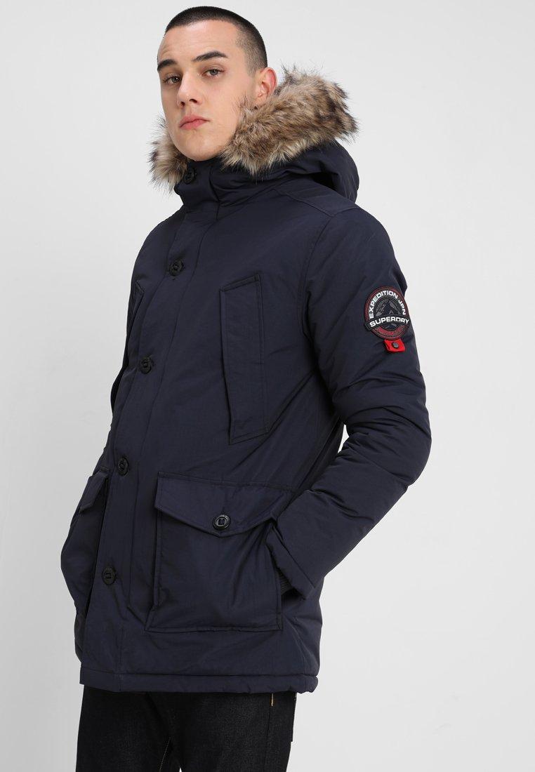 Superdry - EVEREST - Wintermantel - navy