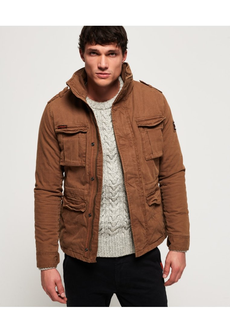 Superdry - CLASSIC ROOKIE  - Light jacket - rusty gold