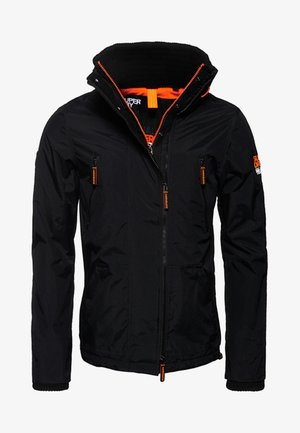 POLAR SD-WIND ATTACKER - Jas - black/neon orange