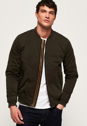 PREMIUM CITY - Kurtka Bomber - green