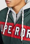 Superdry - UPSTATE - Bomberjacka - green/navy