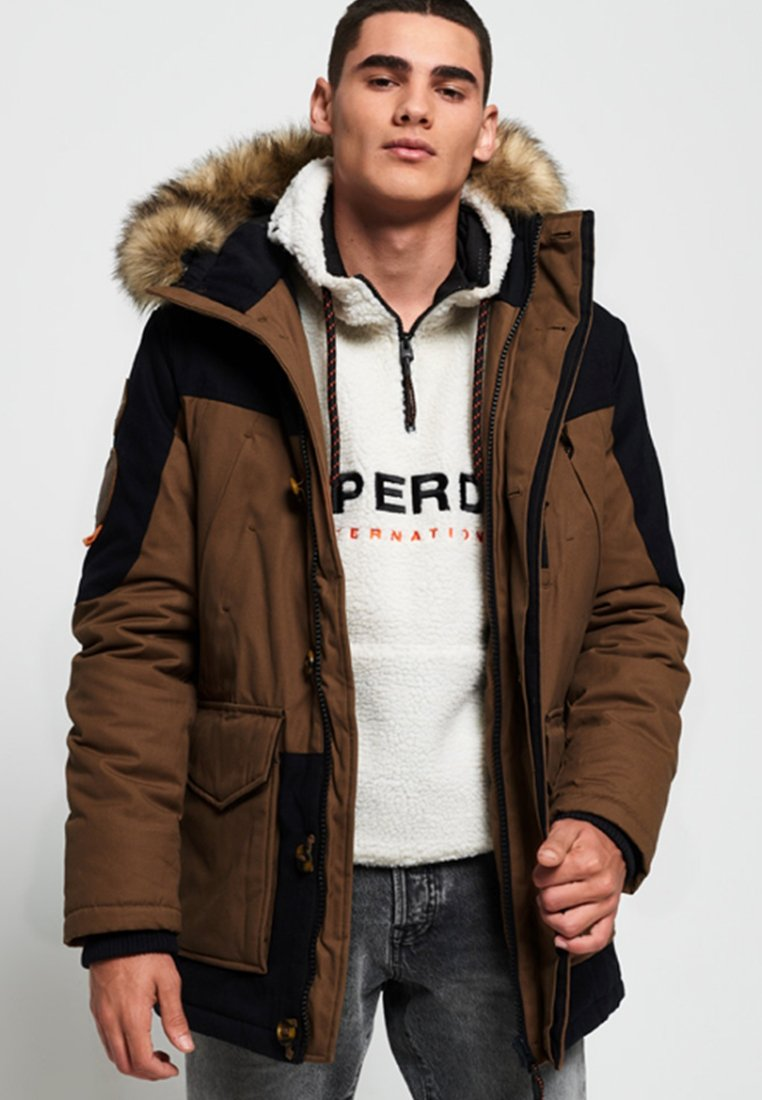 Cappotto Superdry Invernale Brown Superdry Invernale Superdry Cappotto Invernale Brown Cappotto uiOklwZTPX