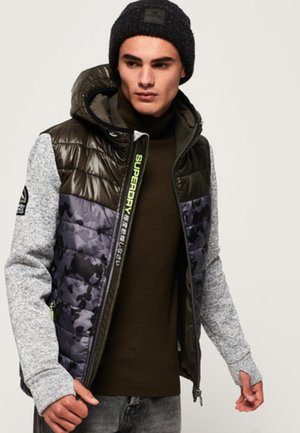 STORM HYBRID - Winterjas - grey/purple/brown