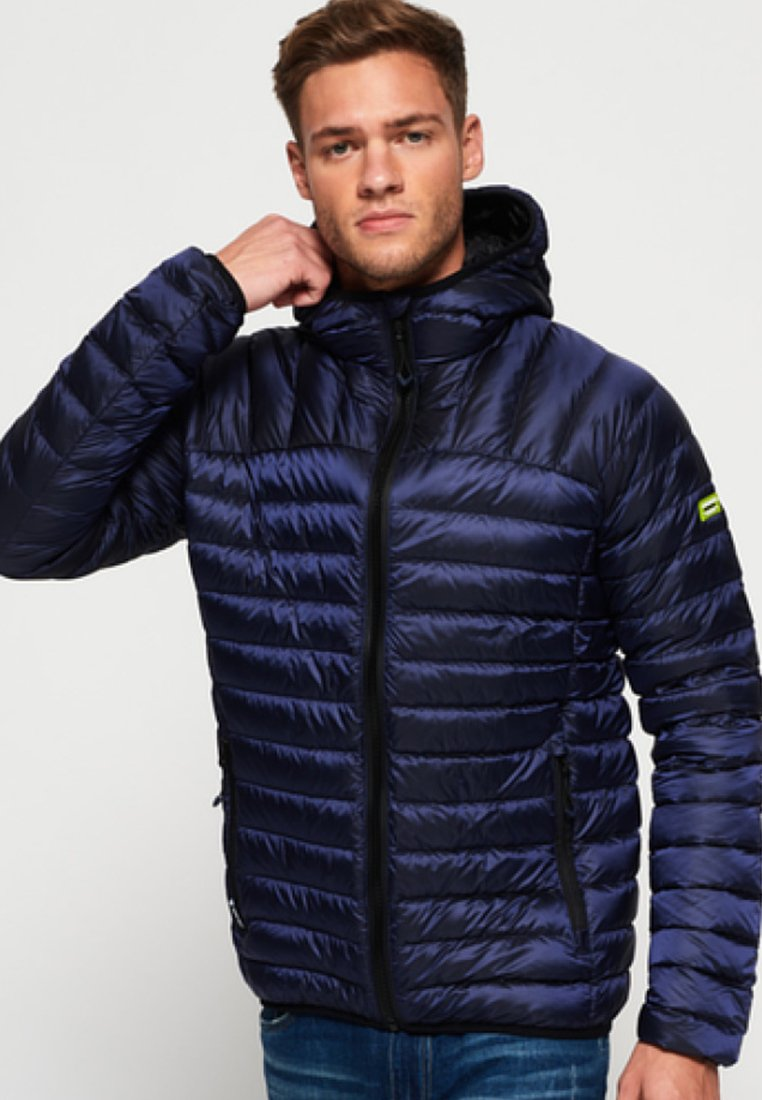 Superdry - CORE MIT KAPUZE - Dunjacka - navy blue