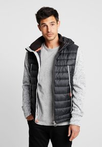 Superdry - STORM FLASH HYBRID - Giacca leggera - light grey grit - 0