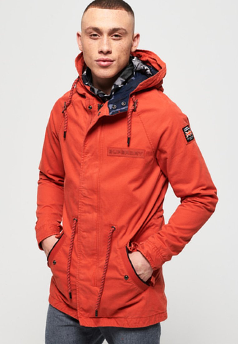 Superdry - AVIATOR ROOKIE -PARKATAKKI  - Parka - orange