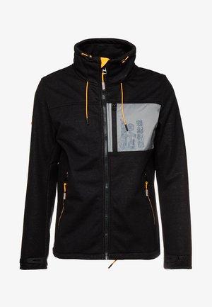 ATOMIC WINDTREKKER - Chaqueta fina - black/bright orange
