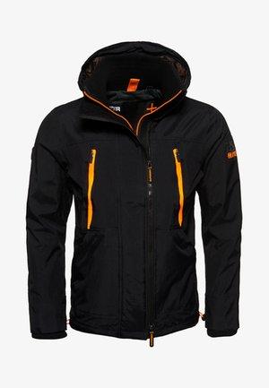 Chaqueta fina - black/orange