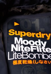 Superdry - LEICHTE MOODY  - Bombertakki - navy blue - 4