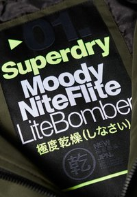 Superdry - LEICHTE MOODY  - Chaquetas bomber - green - 4
