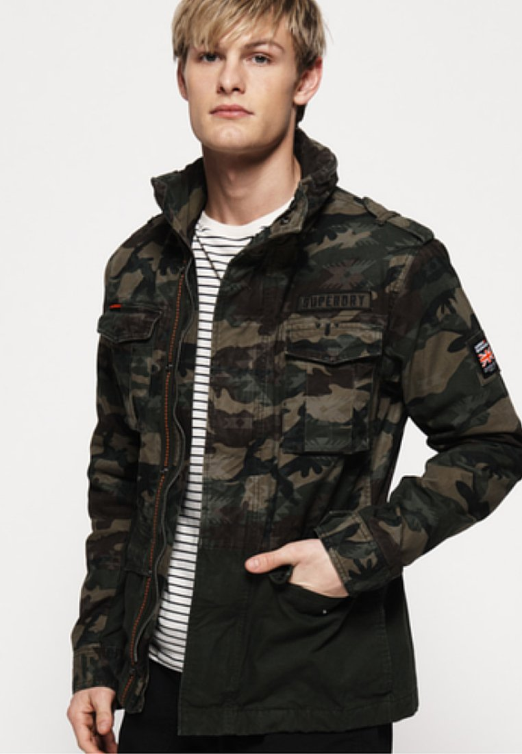 Superdry - Training jacket - green