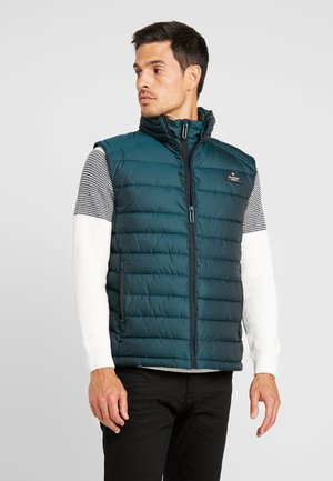 DOUBLE ZIP FUJI GILET - Veste sans manches - country green