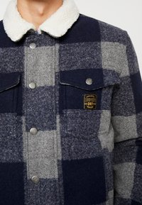 Superdry - HACIENDA CHECK JACKET - Allvädersjacka - navy check - 6