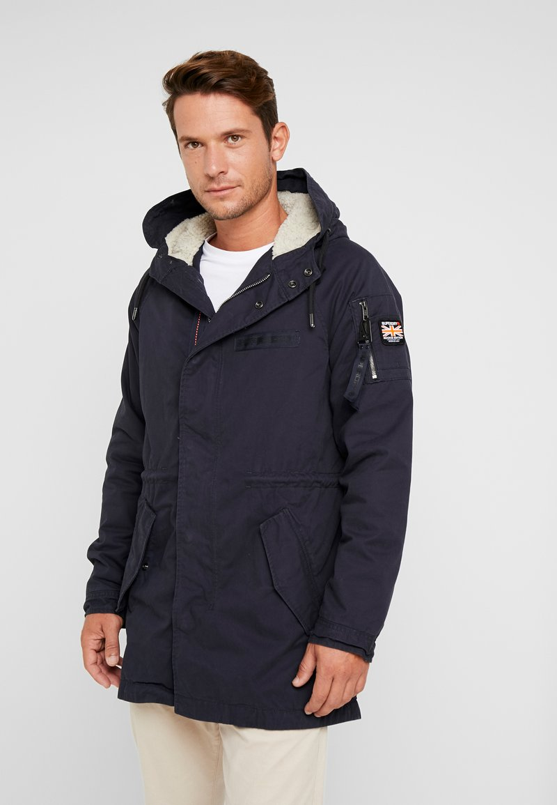Superdry - WINTER AVIATOR  - Parka - dark navy