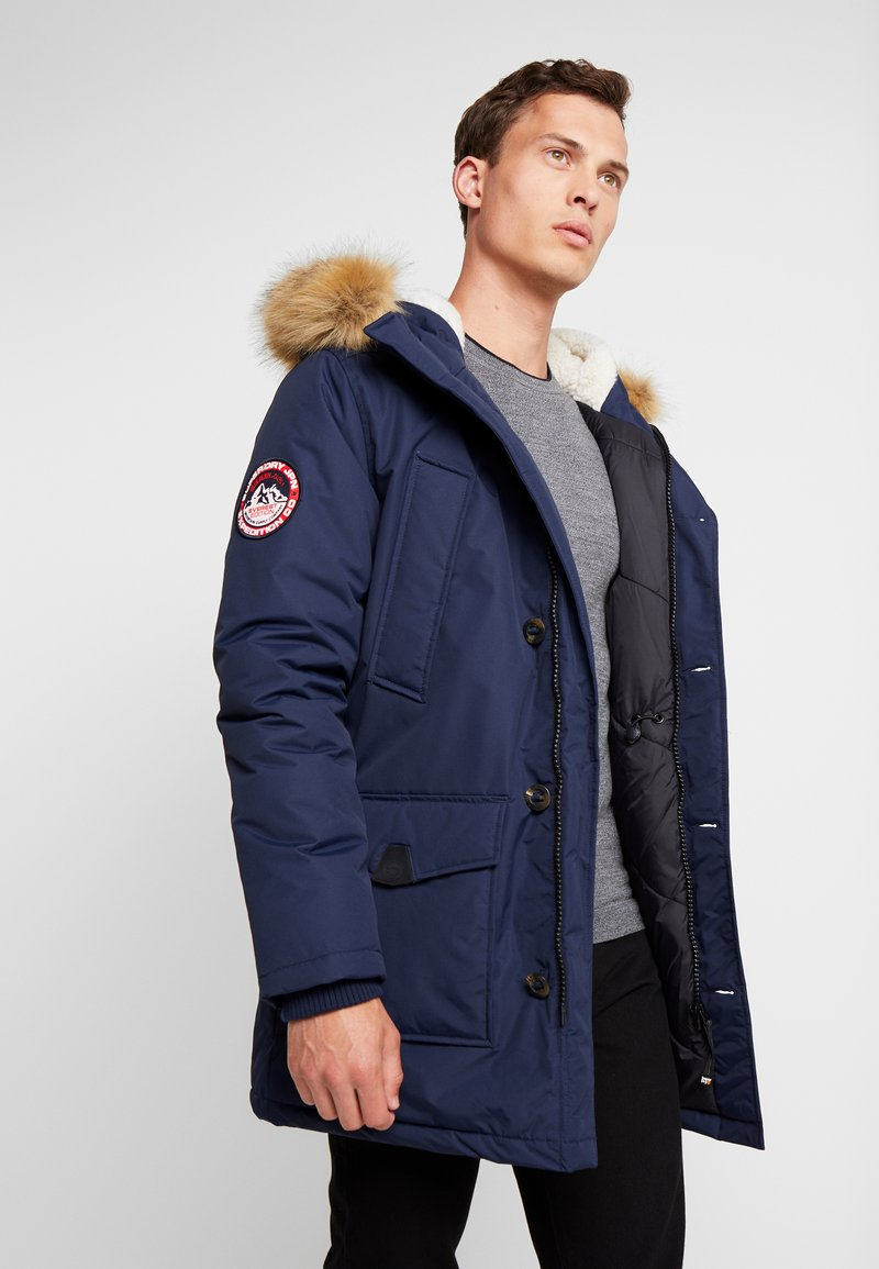 Superdry - EVEREST  - Vinterkappa /-rock - nautical navy
