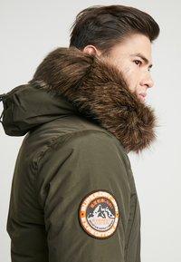 Superdry - EVEREST  - Zimní kabát - amy khaki - 4