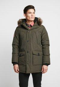 Superdry - EVEREST  - Zimní kabát - amy khaki - 0