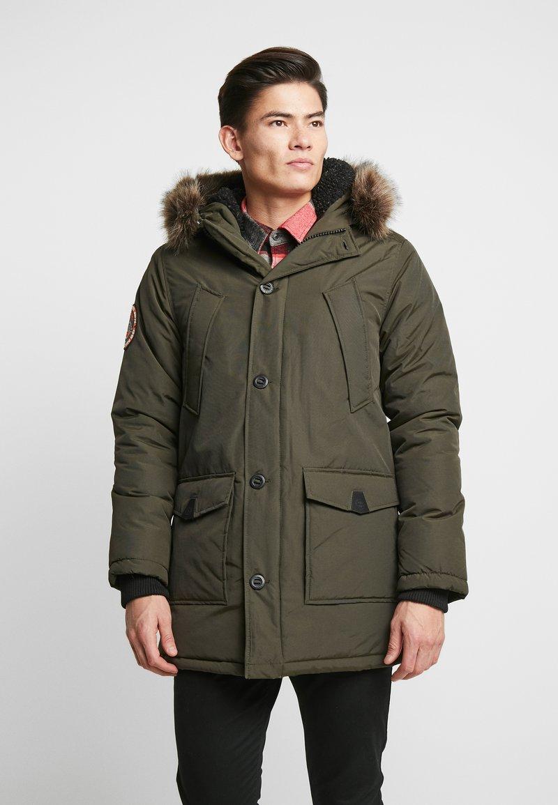 Superdry - EVEREST  - Zimní kabát - amy khaki