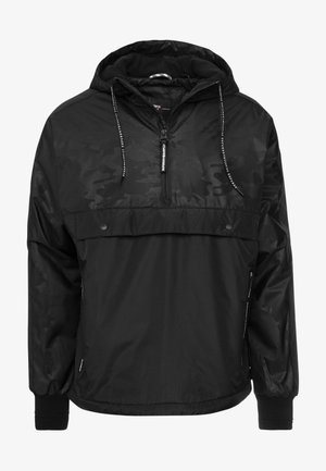 SURPLUS GOODS POP OVER HOOD - Sweat à capuche - jet black