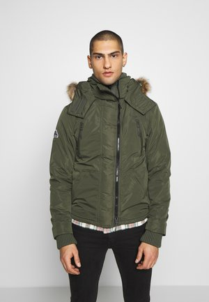 HOODED ATTACKER - Light jacket - army