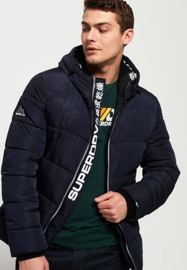 Superdry - Winter jacket - blue