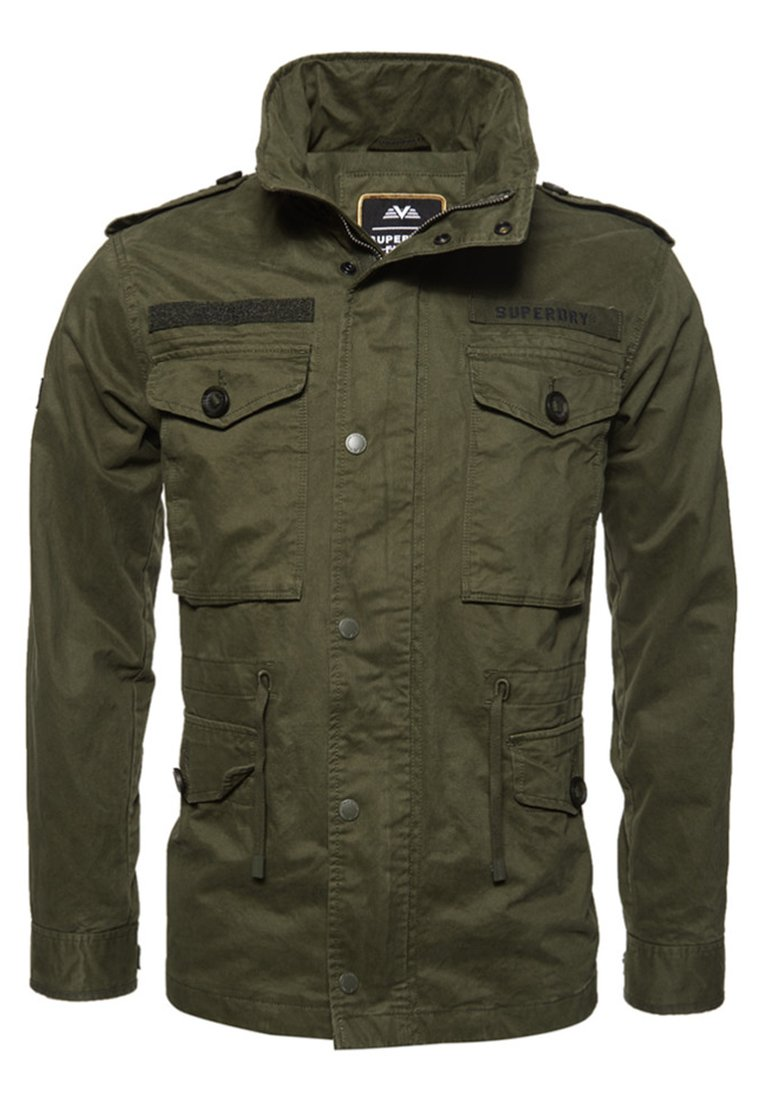 Superdry ROOKIE FIELD - Giacca outdoor - green