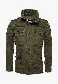 Superdry - ROOKIE FIELD - Outdoor jacket - green - 5