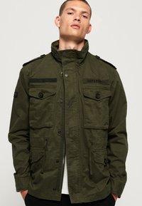 Superdry - ROOKIE FIELD - Outdoor jacket - green - 0