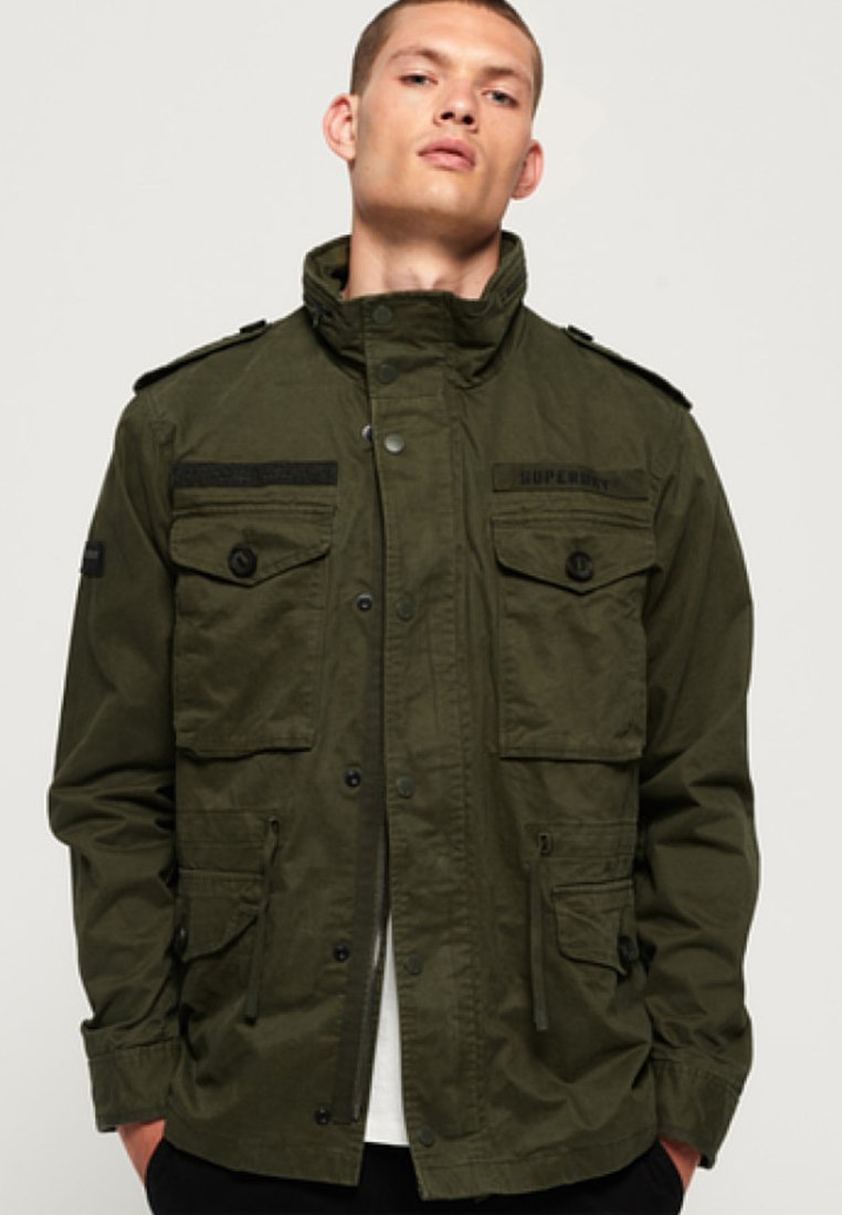 Superdry - ROOKIE FIELD - Outdoor jacket - green
