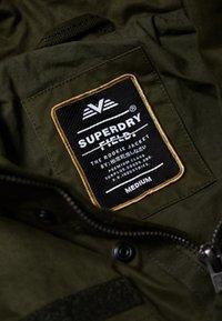 Superdry - ROOKIE FIELD - Outdoor jacket - green - 4